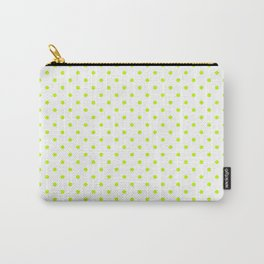 Dots (Lime/White) Carry-All Pouch