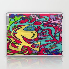 Lemon Wedge Laptop & iPad Skin