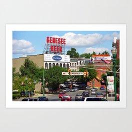 Auburn, New York, 2005 Art Print