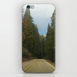 Sequoia National Park- Road iPhone Skin