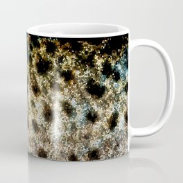 Trout Scales, Fish Scales II x Stained Glass Coffee Mug