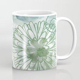 Bouquet of Dreams -- muted Coffee Mug