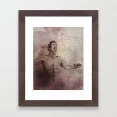 From ash and dust Framed Art Print