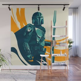 """Mando"" by Matt Kehler Wall Mural"