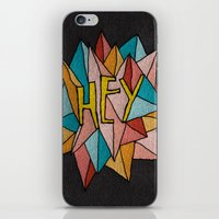 pixies iPhone & iPod Skins featuring HEY by Josh LaFayette
