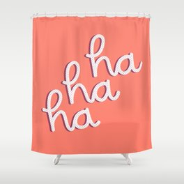 ironically festive Shower Curtain