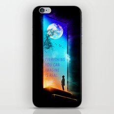 Everything you can imagine is real. iPhone & iPod Skin