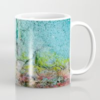 atlas Mugs featuring Atlas by Angela Fanton