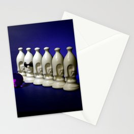 Chess Pieces - The Pawn Lineup Stationery Cards