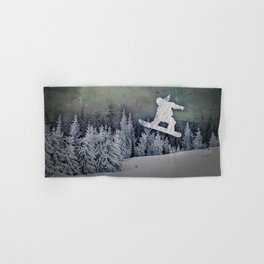 The Snowboarder Hand & Bath Towel