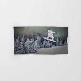 The Snowboarder Hand & Bath Towel