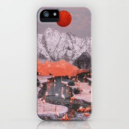 DASH OF PINK iPhone Case