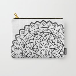 free-hand mandala Carry-All Pouch