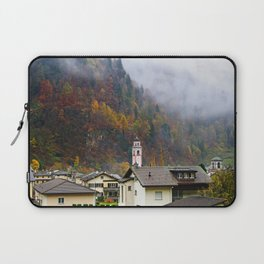 Misty Town Laptop Sleeve