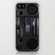 Boombox iPhone5 case (follow link below for iPhone4) Slim Case iPhone (5, 5s)