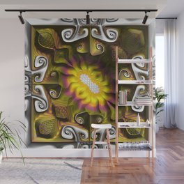 Gnarly Sunflower Wall Mural