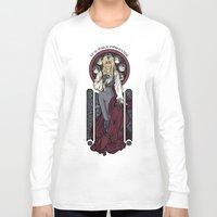 hallion Long Sleeve T-shirts featuring It's not long at all.... by Karen Hallion Illustrations