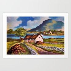 County Connemara 2  Art Print