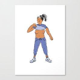 Flasher #2 Canvas Print