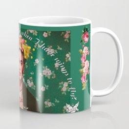 Wings To Fly Frida Coffee Mug
