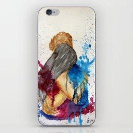 Hug - the power iPhone Skin