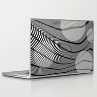 mid century Laptop & iPad Skins featuring Mid-Century Mod by Patti Toth McCormick