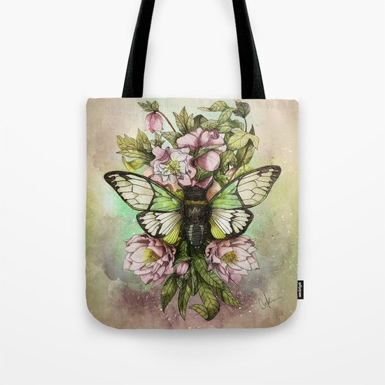 Cicada [The last summer chant]] Tote Bag