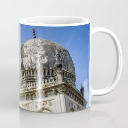 Two Beautiful Tombs Showcasing Traditional Mughal Architecture at the Qutb Shahi Tombs in Hyderabad, India Coffee Mug