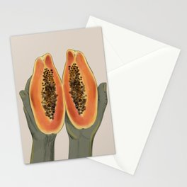 Papaya  Stationery Cards