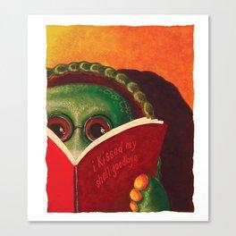 Kiss My Shell Goodbye Canvas Print