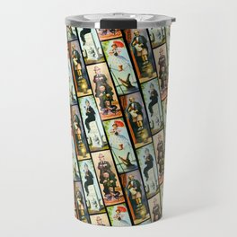 Haunted Mansion Stretch Paintings Travel Mug