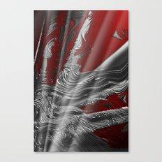 Liquid Silver Canvas Print