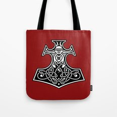Thor's hammer redux Tote Bag