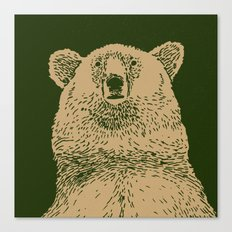 Kodiak Bear Canvas Print