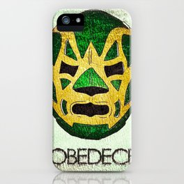 Fishman: OBEDECE iPhone Case