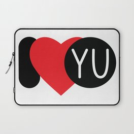 I love YOU Laptop Sleeve