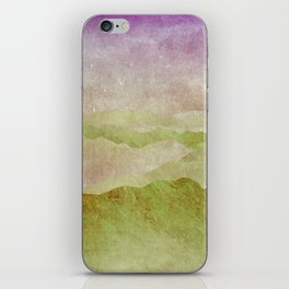 Smoky Mountains II - Appalachian Spring iPhone Skin