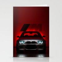 bmw Stationery Cards featuring BMW M3 by Vasco Estrelado - Photographer