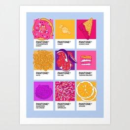 Pantone cafe Kunstdrucke