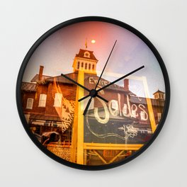 Diffraction 5 Wall Clock