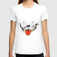 cheshire cat T-shirts featuring Cheshire by Jorge Daszkal