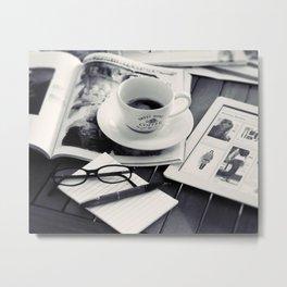 Bureau Metal Print