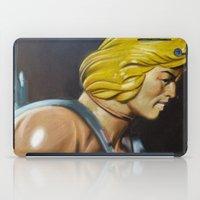 he man iPad Cases featuring HE-MAN by John McGlynn