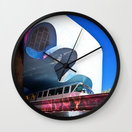 Seattle Center Monorail Wall Clock