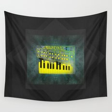 Futuretro Space Wall Tapestry