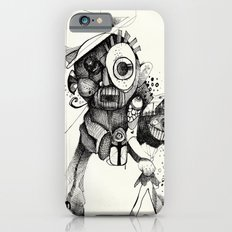 The Mad Hatter B&W iPhone 6s Slim Case