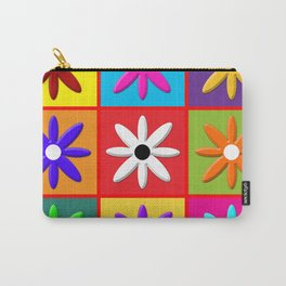 Pop Daisy Carry-All Pouch