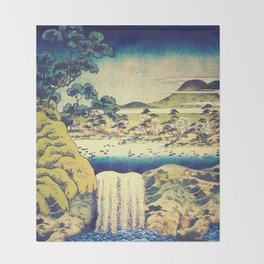 To Pale the Rains in August Throw Blanket