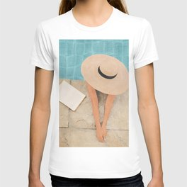 On the edge of the Pool II T-shirt