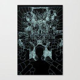 Transfiguration in Blue Canvas Print